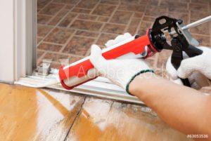 sealing the floor board