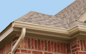 cleaning residential gutters